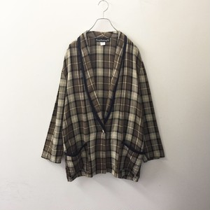 Craing Clothing Co. ブラウンチェック オーバーサイズ ジャケット アメリカ製  古着