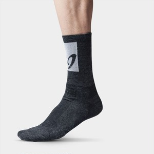 Isadore Apparel(イザドア・アパレル)|MERINO SOCKS Hi-Top BLACK