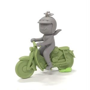 モペットバイク    緑×グレー