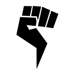 ノーレップ ロゴ 黒 ステッカー 大
