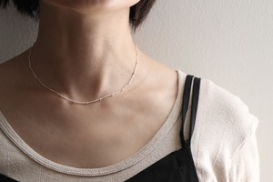 dot -Silver- / Necklace