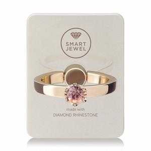 Smart Jewel-Lady Crown‐Champagne Gold-10月‐17SJ8-1-SGDLPC