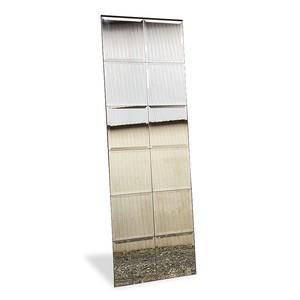 ■配送不可【ヴィンテージ 長方形 ウォールミラー(180x57cm)姿見/鏡】