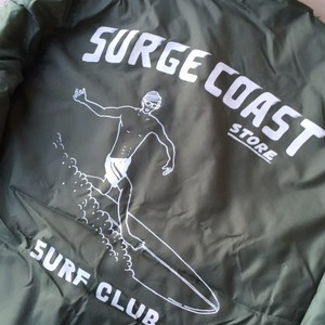 "Surge Coast Store ""Surf Club Boa Coach Jacket"""
