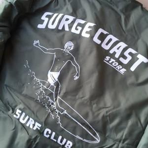 "Surge Coast Store ""Surf Club Boa Coach Jacket"""