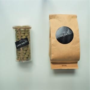 CAFE AALTO スペシャルティコーヒー(100g)& 宇治抹茶とチーズのクッキー