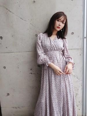 【追加・予約商品】Leopard Wrap Dress