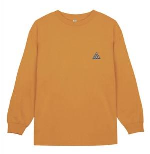 """(受注販売)triangle logo"""" LS T-shirt"""