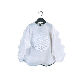 POP WAVE CUT SLEEVES S/H TP / WOMEN