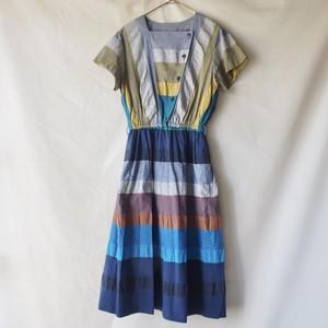 vintage marine design dress
