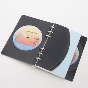本物のレコードでできたノート Logu 011  | Logu-Records