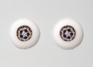 Silicone eye - 19mm Rosace Lily