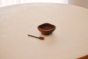 Teak wood bowl&spoon