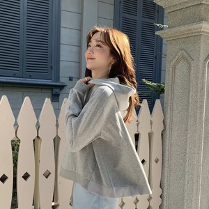 flare hoodie  gray (即納)