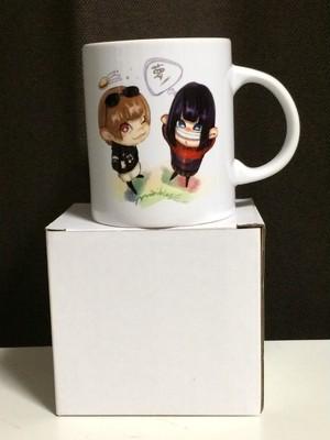 加瀬ちゃん&まりにゃん マグカップ