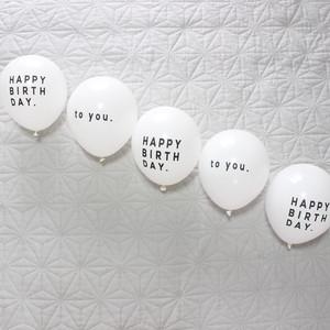 Balloon   HAPPY BRITHDAY   to you