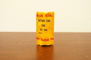 【 120 カラーネガ 】 Kodak( コダック )Ektar100