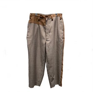 【HOMELESS TAILOR】ASIMETRY WIDE PANTS