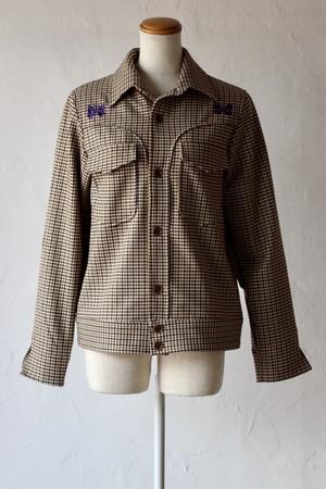 【Needles】cowboy leisure jacket-gunclub plaid