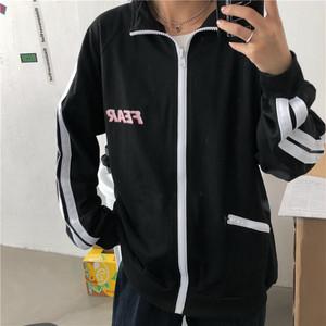 【アウター】韓国風アルファベットゆったり型合わせやすいジャケット27128231