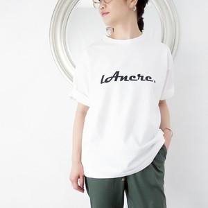 L'Ancre (アンカー)ロゴTシャツ