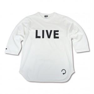 EVILACT(イーブルアクト) / Backwards 3/4 sleeve Baseball T's(natural)