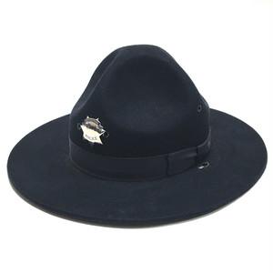 Vintage Stratton Beaver Four Dent Style Hat Dark Navy 7 1/4 Deadstock