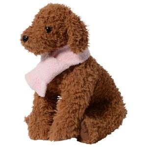 【送料無料】 犬服(ドッグウェア) ペット服 ふわふわニット マフラー ピンク