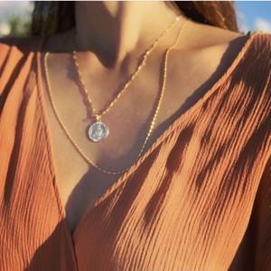 14 KGF Medal necklace【40cm】