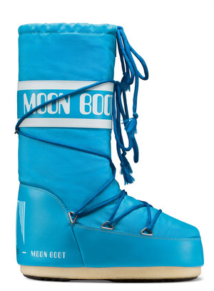 MOON BOOT  MB NYLON 068TURQUOISE