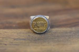 17号BUTTON WORKS x LARRY SMITH WORK Button Ring #9