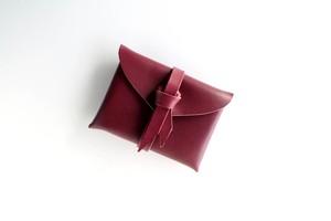 ori card case / 折りカードケース #Cocoa red/ココアレッド