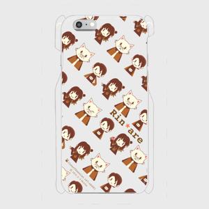 iPhoneクリアケース チョコレート【6, 6s】【SE】