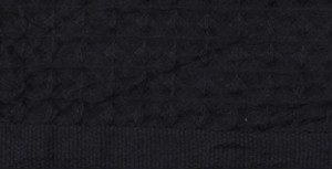 KONTEX Heather Waffle Towel Charcoal Gray