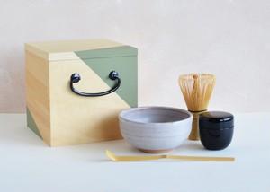 Ippukubox −イップクボックス−(グリーン)|高橋工芸|お茶、茶道、初心者安心セット