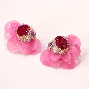 【ピアス.3】phantomFLOWER crystal