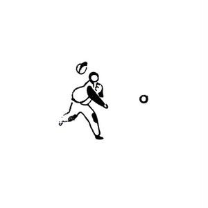 キャッチボール / 投げる人 A thrower