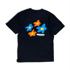 Favorite flower S/S shirts【Black】