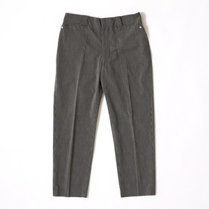 【FILL THE BILL】《MENS》SEERSUCKER WESTERN PANTS - BLACK