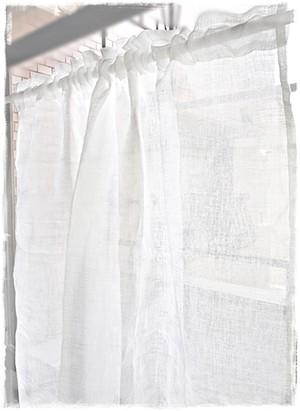 ♧リネンガーゼ*ロッドポケットカーテン【トール】イージーオーダー♧W150×H160~200