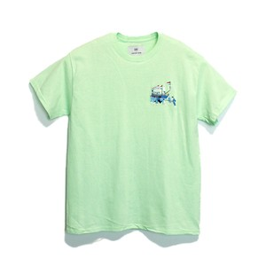 KUNCHI  TEE - mint green  <HOLLAND>