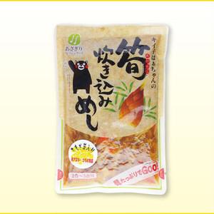 熊本県産あさぎり町「たもぎ茸入りキイ子ばあちゃんの筍炊き込みめし」400g/袋 【送料無料】