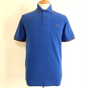 Twin Tipped Fred Perry Shirts Royal / Tobbaco