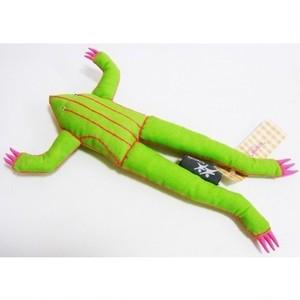 アジアのカエル人形 ラオスライトグリーン  118FMK20F-lg-c1611