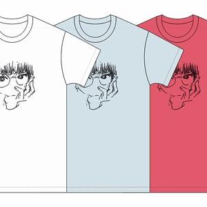 [T-shirts]踊ってばかりの国×花原史樹コラボ『NEKO Tee』