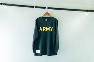 US ARMY DEAD STOCK ロングスリーブT