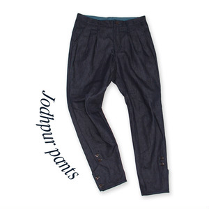 Jodhpur pants[Navy]*denim
