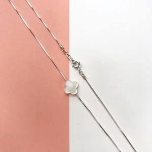 白蝶貝+ベネチアンチェーンネックレス Silver925