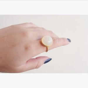 moon stone ring (ムーンストーン)#14