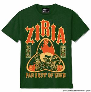 天外魔境ZIRIA Tシャツ   ディープグリーン  / GAMES GLORIOUS